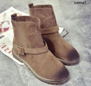 女性 靴 スウェード製