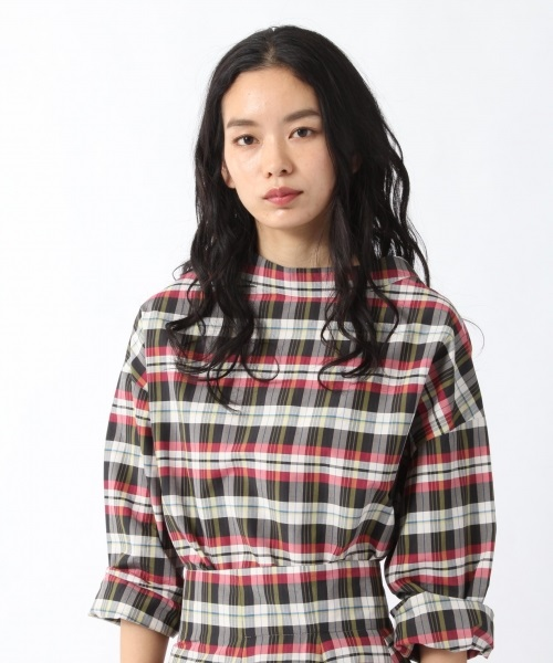 ケンタッキー高畑充希のCM衣装|赤チェックのワンピースのブランド名